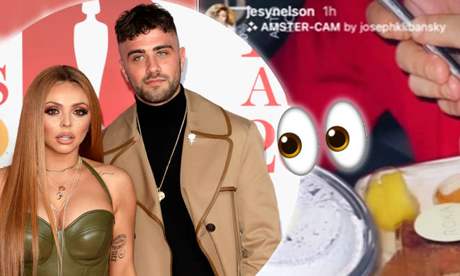 Jesy Nelson sparks rumours she and ex Harry James are back together