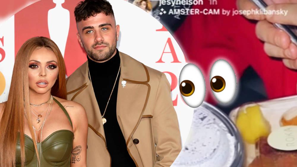 Jesy Nelson & Ex Harry James Post Same Instagram Story Sparking Reunion Rumours - Capital