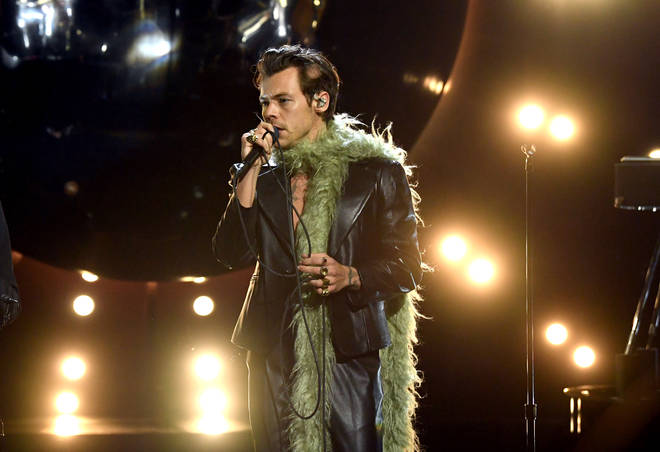 Harry Styles opened up the Grammys with a performance of 'Watermelon Sugar'.