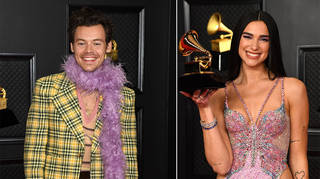 Harry Styles and Dua Lipa fans are hoping for a collab after their Grammys interaction.