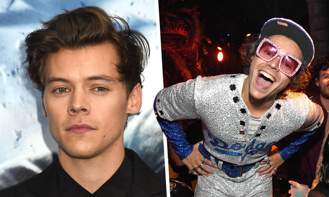 Harry Styles' Halloween tribute to Elton John had a secret meaning