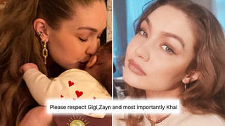 Gigi Hadid accidentally posts Khai's face and fans are helping her get it off the internet