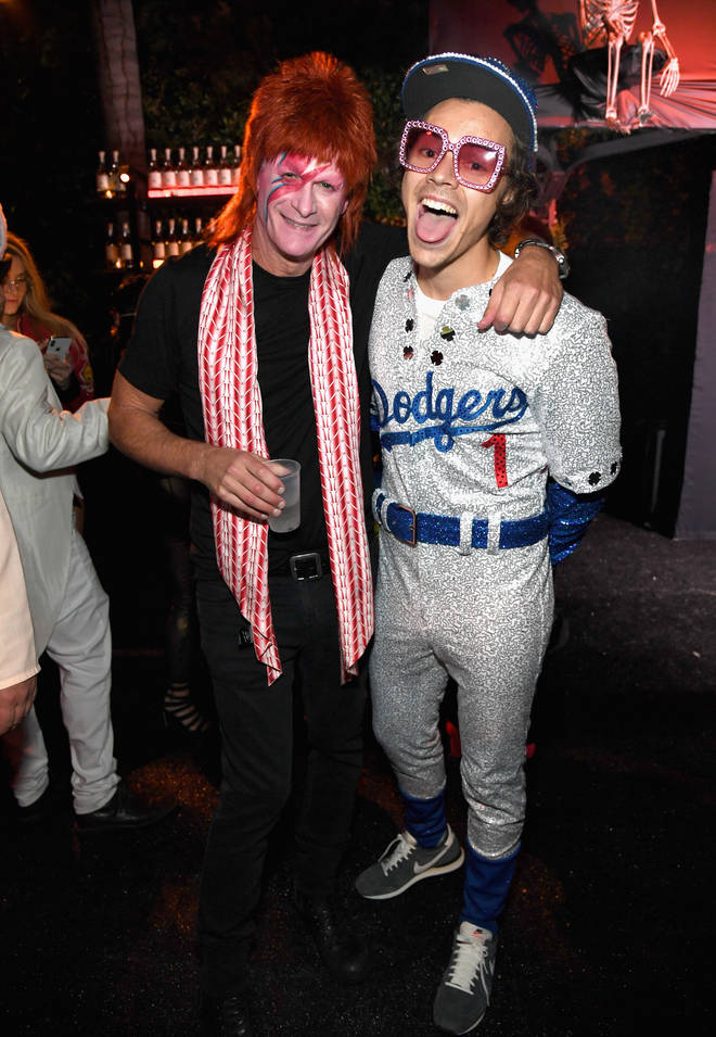 Harry Styles was attending Casamigos Halloween party