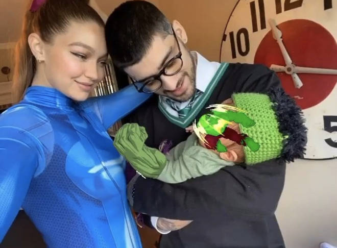 Zayn and Gigi dress up as their favourite movie characters for Halloween
