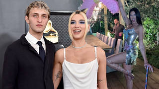 Anwar Hadid surprised Dua Lipa after her Grammys win
