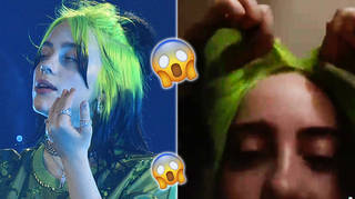 Billie Eilish reveals her trademark hair is actually a wig