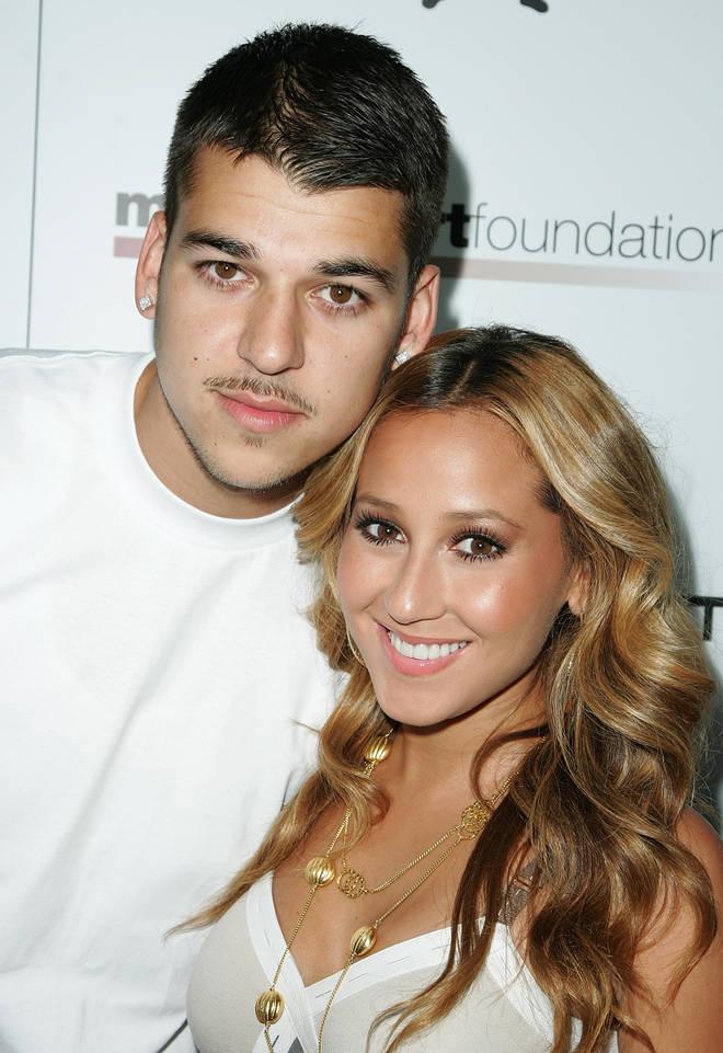 Rob Kardashian and Adrienne Bailon dated between 2007-2009.
