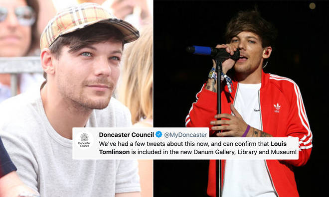 Louis Tomlinson's fans were quick to share how proud they were of him.