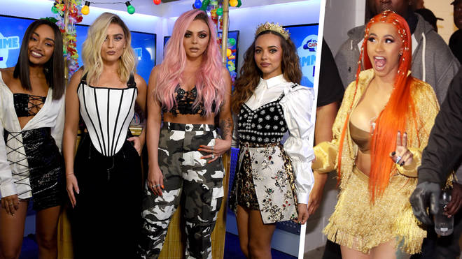 Little Mix wade in the Cardi B-Nicki Minaj beef