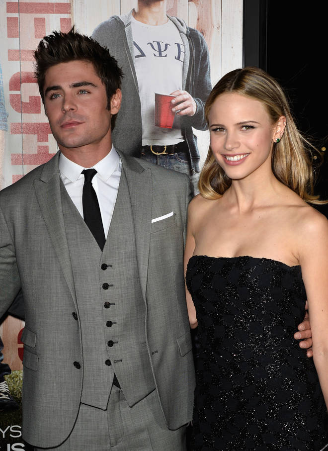 Zac Efron dated Halston Sage after they met on the set of Bad Neighbours.