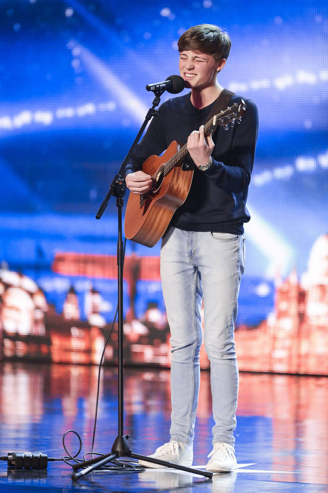 James Smith appeared on Britain's Got Talent in 2014