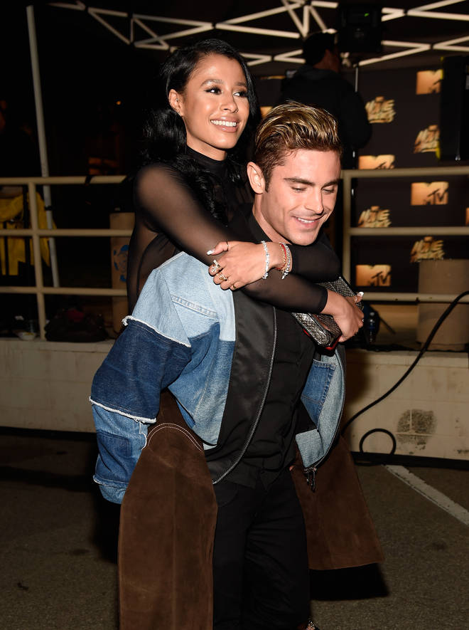 Zac Efron and Sami Miro were in a relationship for just under two years.
