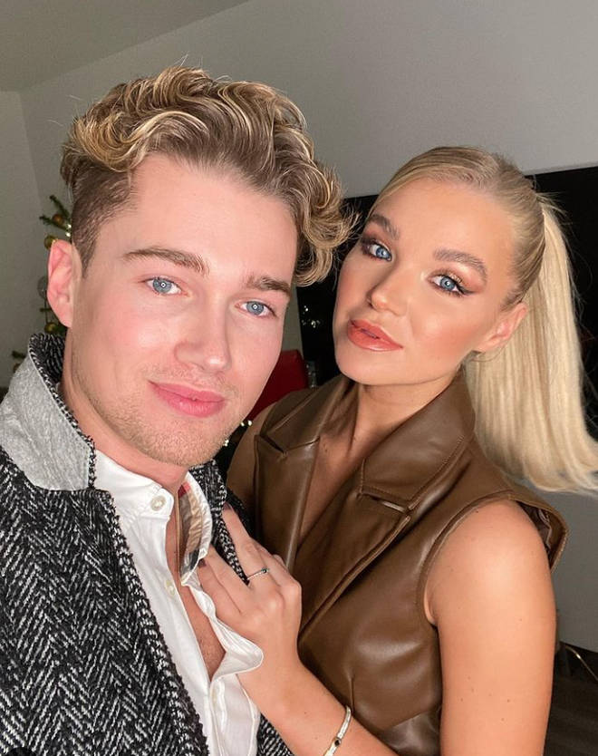 Abbie Quinnen and AJ Pritchard were trying to recreate a video they'd seen turning a glass bottle into a vase