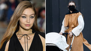 Gigi Hadid went for a lunch outing with baby Khai