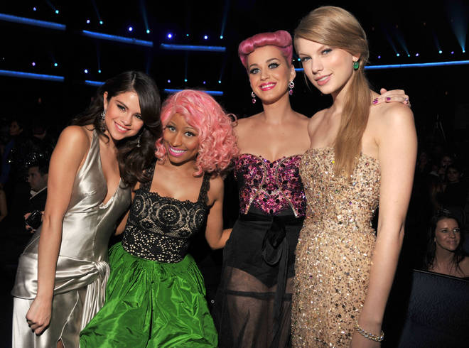 Taylor Swift and Katy Perry had a falling out which lasted years.