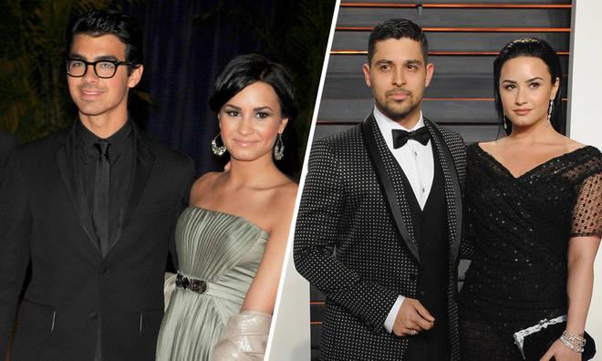 Demi Lovato's dating history includes Joe Jonas and Wilmer Valderrama