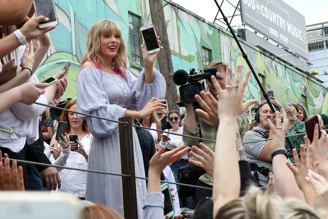Taylor Swift has a base in Nashville and spends a lot of her time there