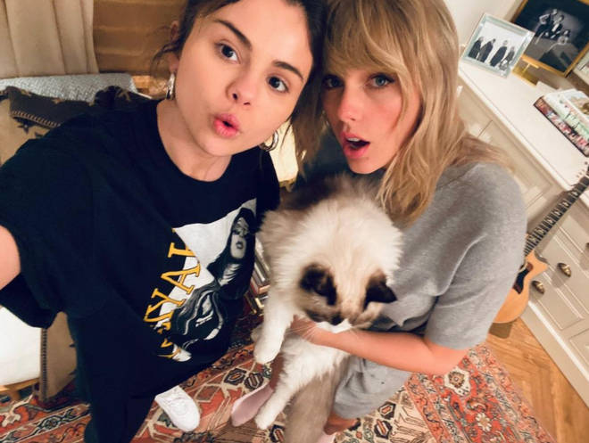 Selena Gomez posted this tbt with Taylor Swift to tell her she misses her