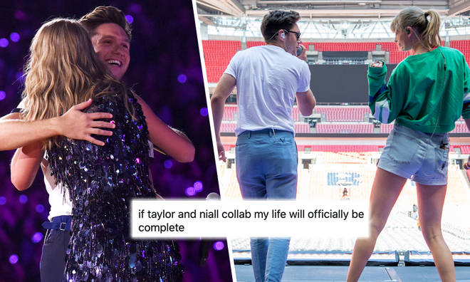 Niall Horan could be collaborating with Taylor Swift