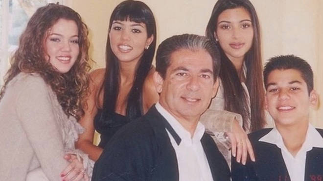 Kim Kardashian has shared younger family pictures over the years.