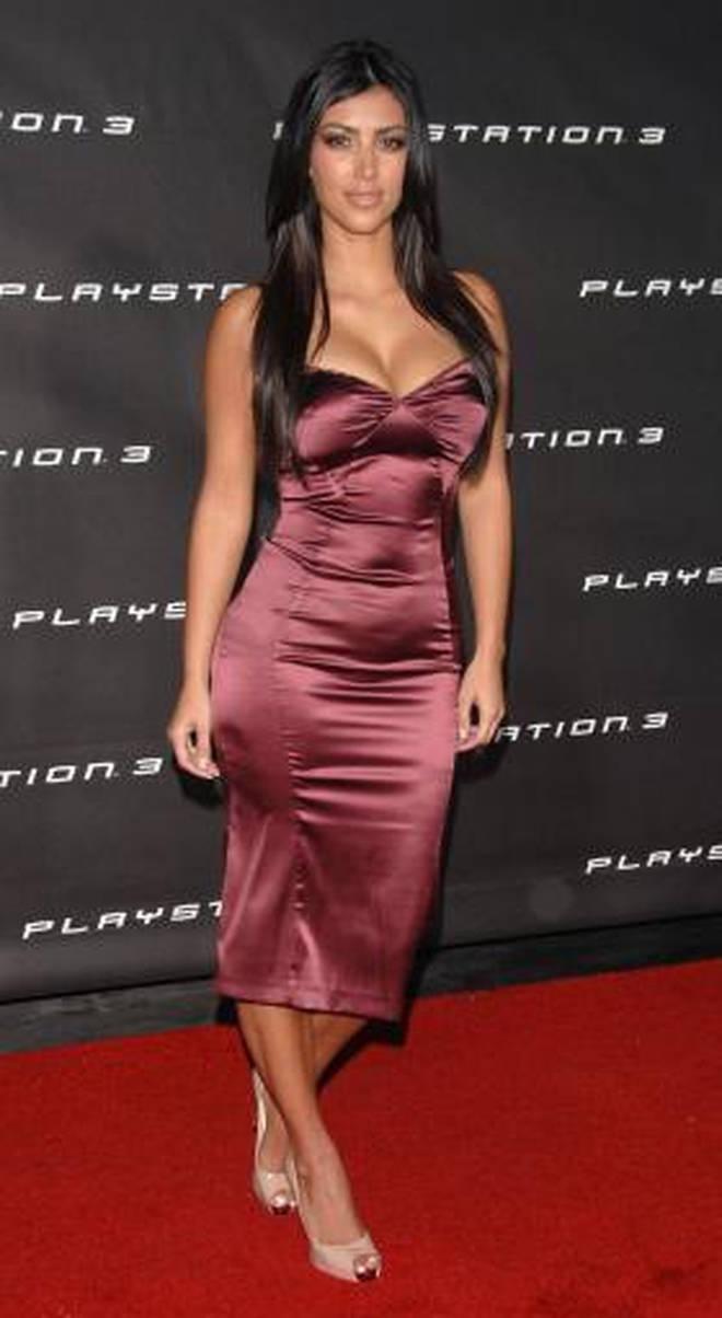 Kim Kardashian has always been into fashion.