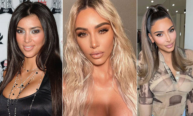 A look through Kim Kardashian's pictures before fame.