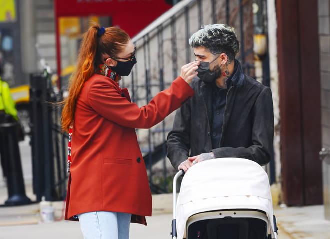 Gigi Hadid and Zayn Malik have an apartment in New York City.