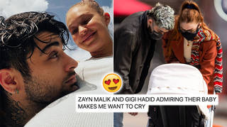 Fans can't get over the adorable pictures of Zayn Malik and Gigi Hadid admiring baby Khai.