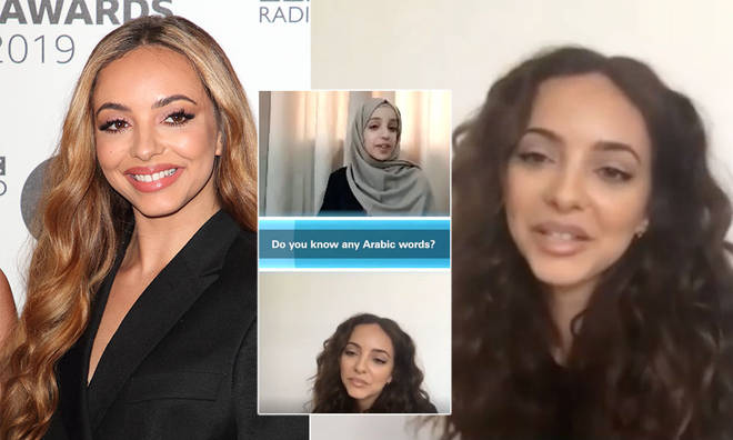 Jade Thirlwall shared the phrases she knows how to say in Arabic.
