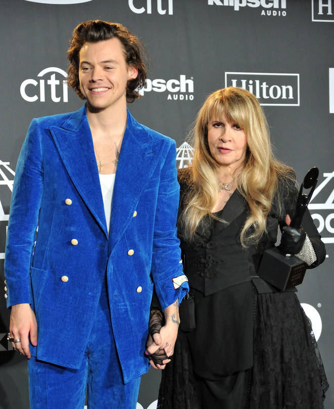 Harry Styles and Stevie Nicks are good friends.
