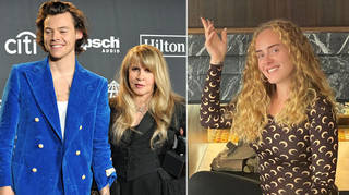 Harry Styles' couldn't get over the sweet story Stevie Nicks shared.