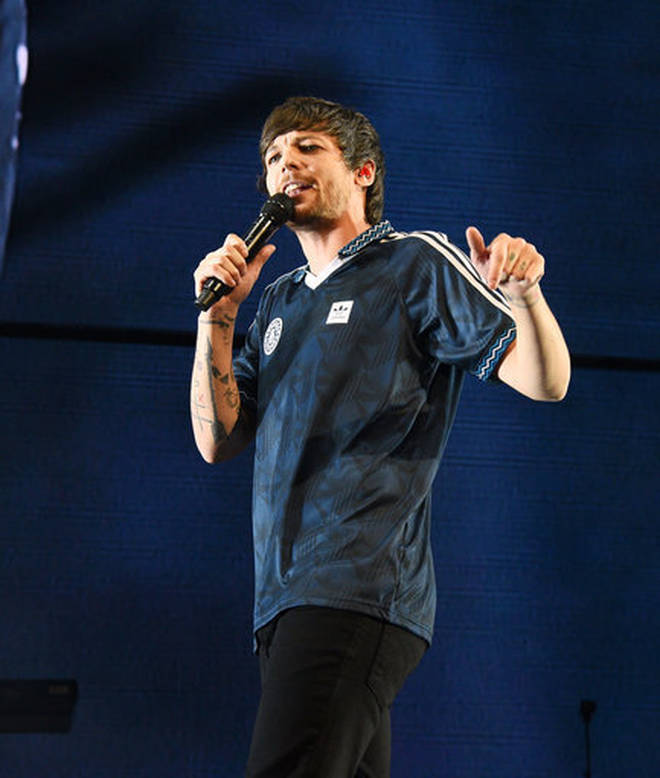 Louis Tomlinson's fans are convinced he's making a documentary titled 'Faith in the Future'.