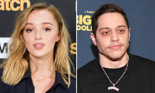 Phoebe Dynevor and Pete Davidson are in a long distance relationship