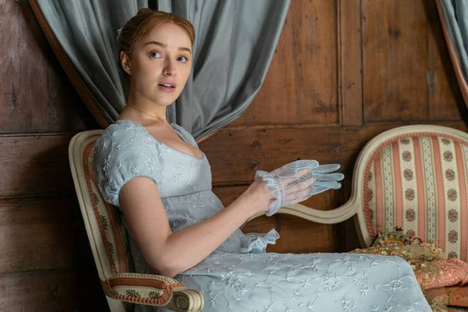 Phoebe Dynevor plays Daphne in Bridgerton