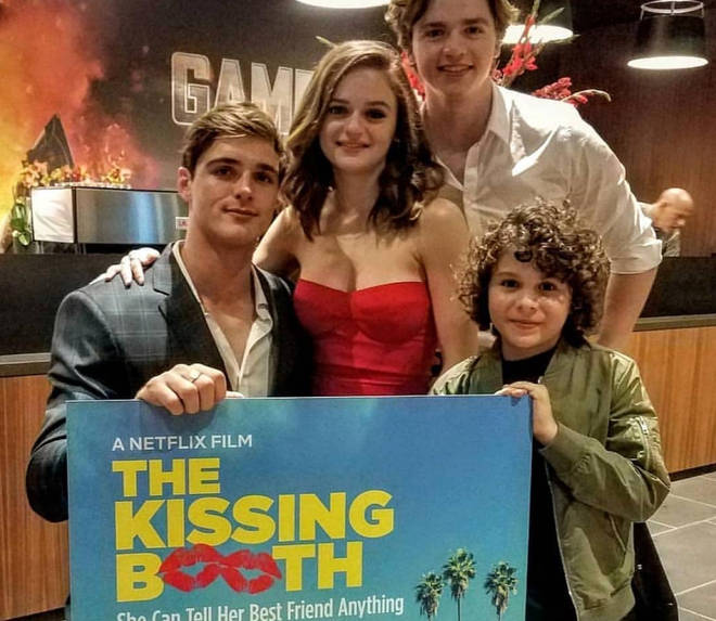 The Kissing Booth was given a Halloween makeover