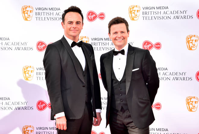 Ant and Dec formerly lived on the same street.