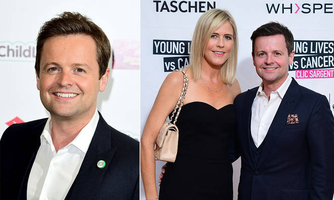 Thieves attempted to break into Declan Donnelly's family home.