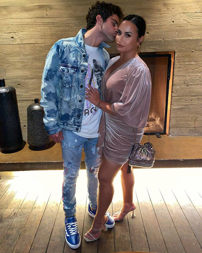 Demi Lovato said she had to 'mourn' the person she thought Max was