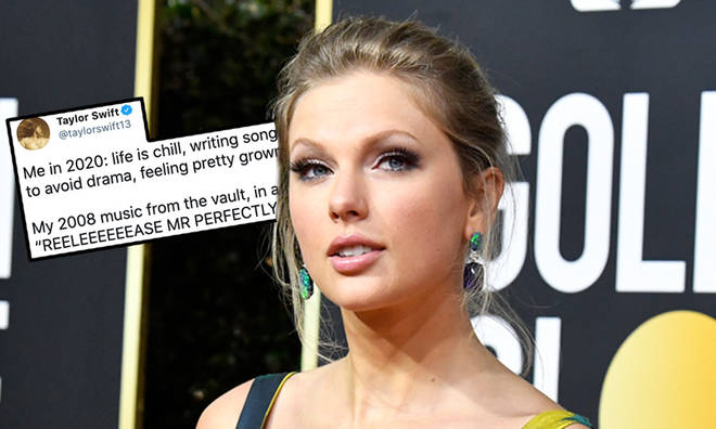 Taylor Swift surprised fans with new song 'Mr Perfectly Fine'