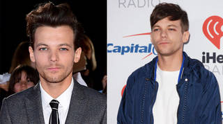 Louis Tomlinson showed off his new long hair look while travelling to Mexico.