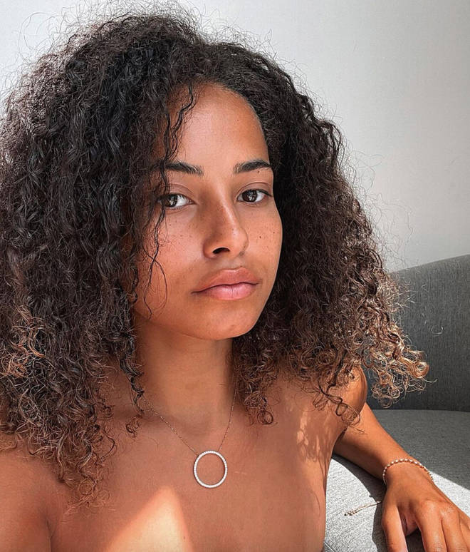 Amber Gill took to Instagram to explain what had happened with Meghan James.
