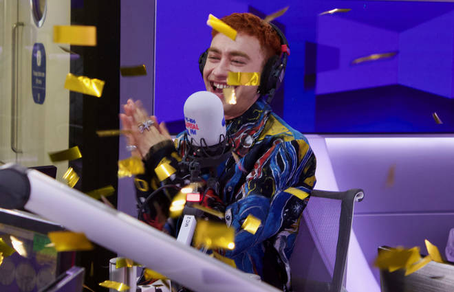 Olly Alexander joined Capital Breakfast with Roman Kemp