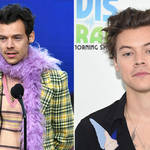 Harry Styles was seen greeting fans in London in a rare sighting.