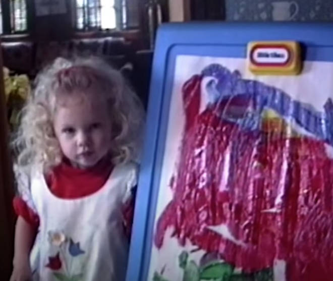 Taylor Swift as a youngster was too cute for words