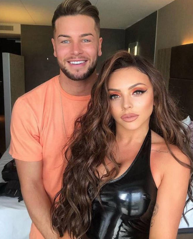 Jesy Nelson and Chris Hughes first started dating in 2018.