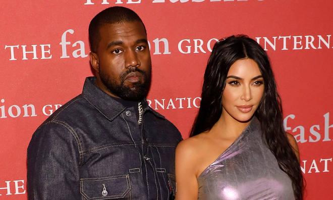 Kanye West finally responded to Kim Kardashian's divorce filing