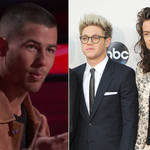 Nick Jonas said Harry Styles and Niall Horan were doing a 'good job' in their solo careers.