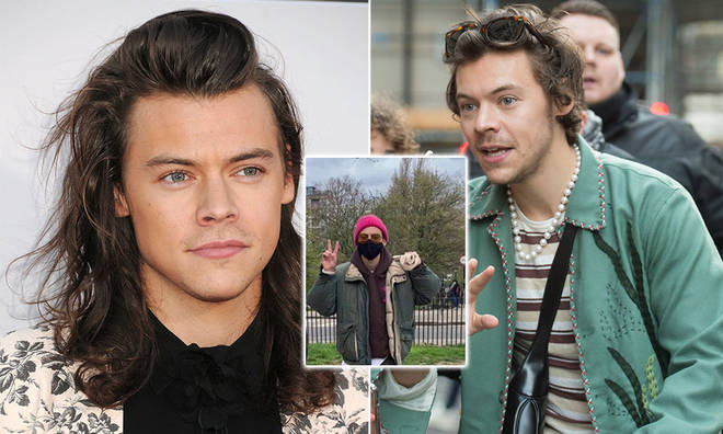 Three fans who met Harry Styles made a Vlog detailing their experience meeting him.
