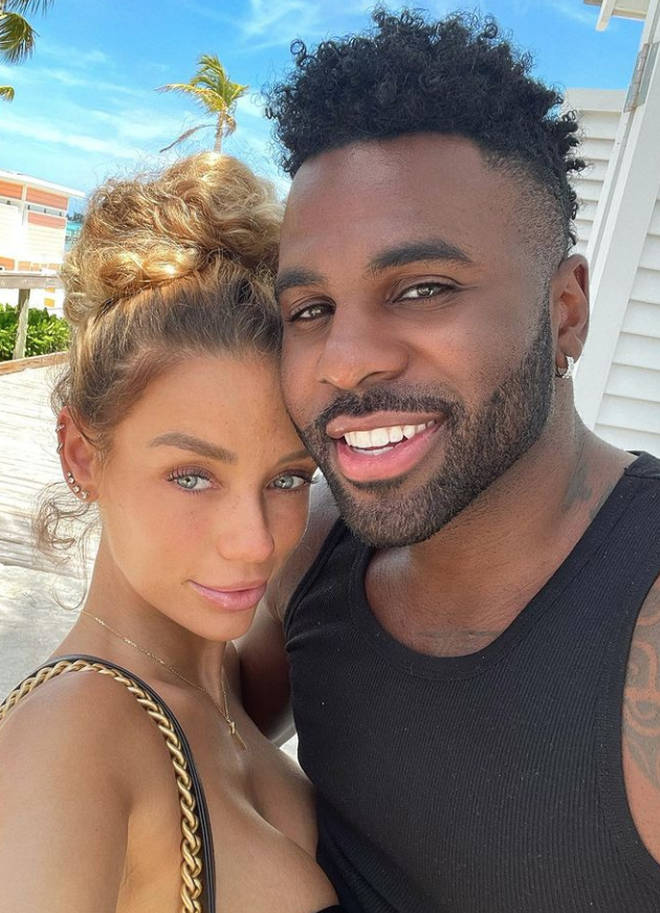 Jason Derulo and Jena Frumes are expecting their first baby