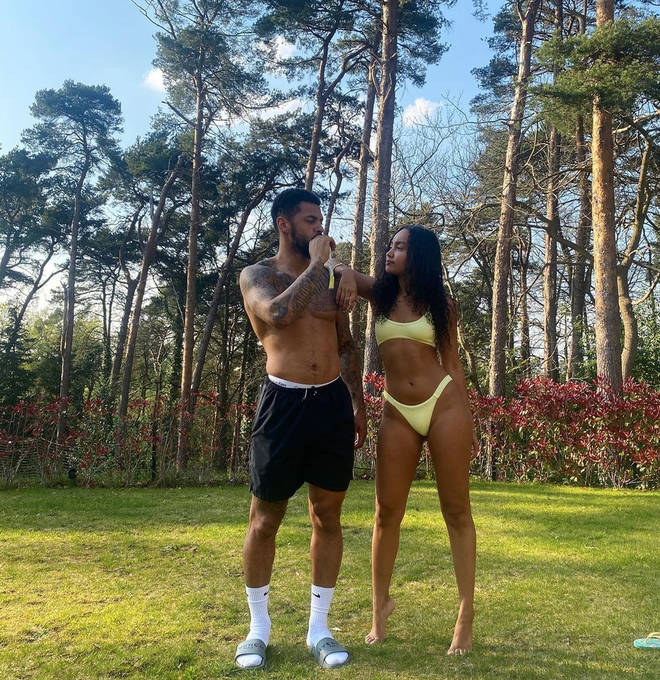 Leigh-Anne Pinnock and Andre Gray have been living together for three years.